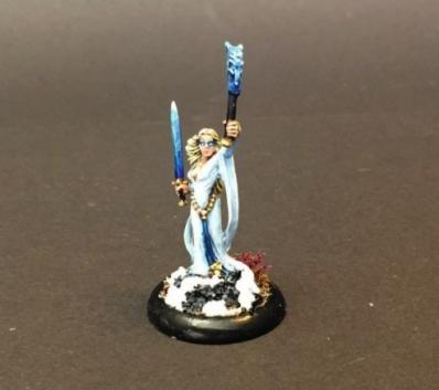 Kislev Ice Sorceress / Bretonnian Damsel