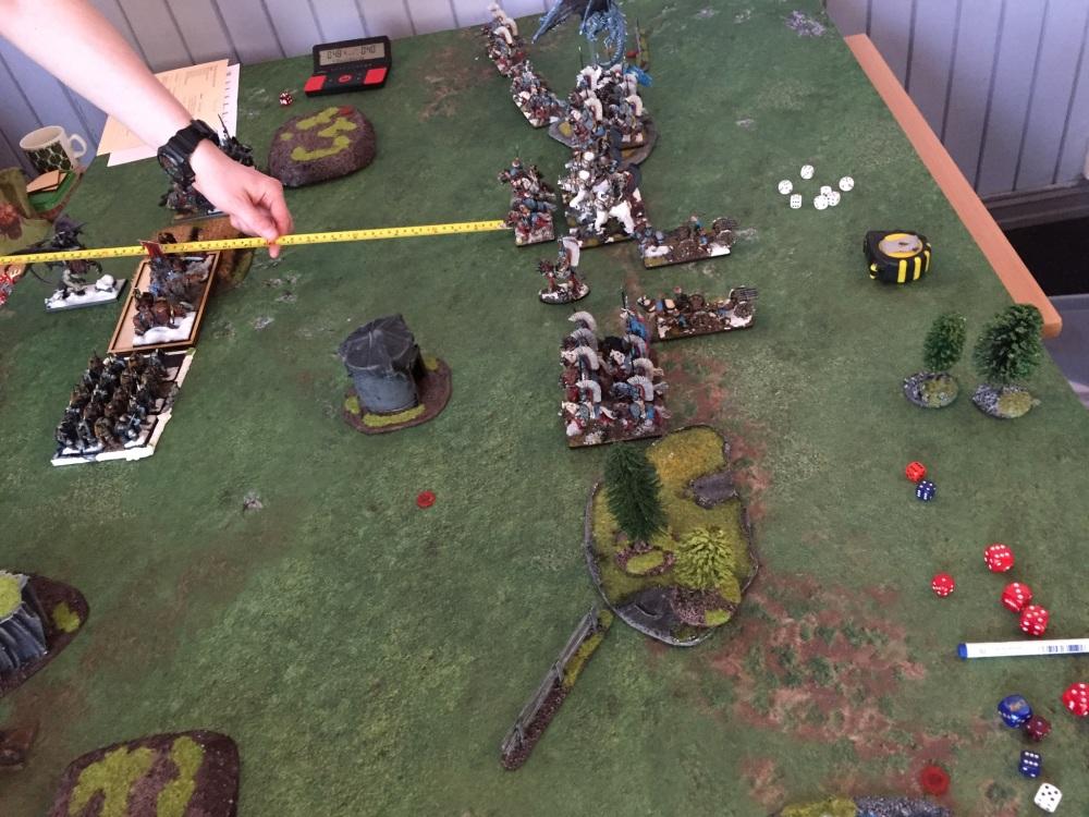 kislev turn 1 vs varangur