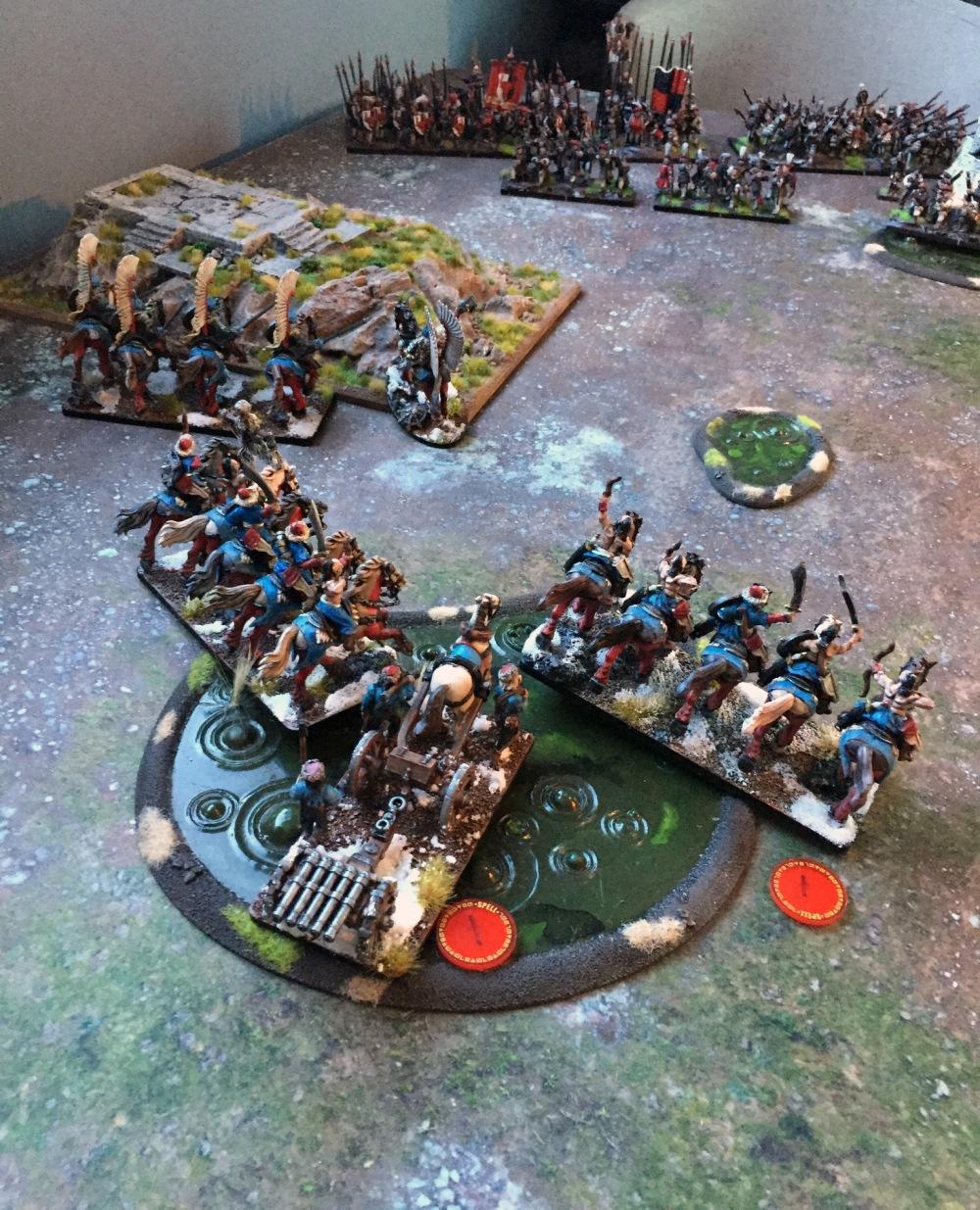 left flank turn 1