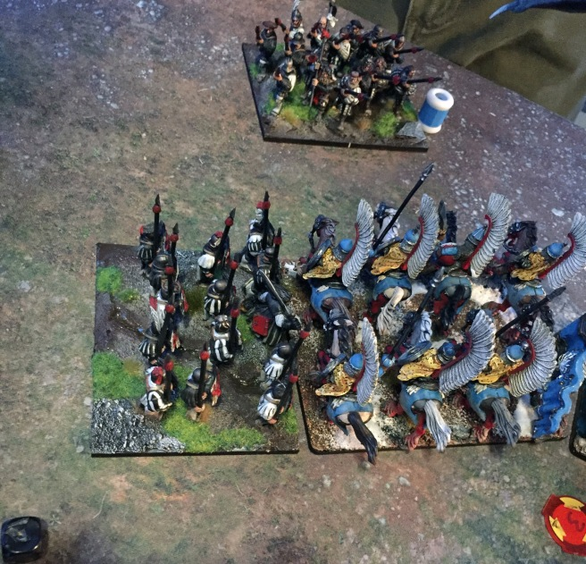 spears in the flank