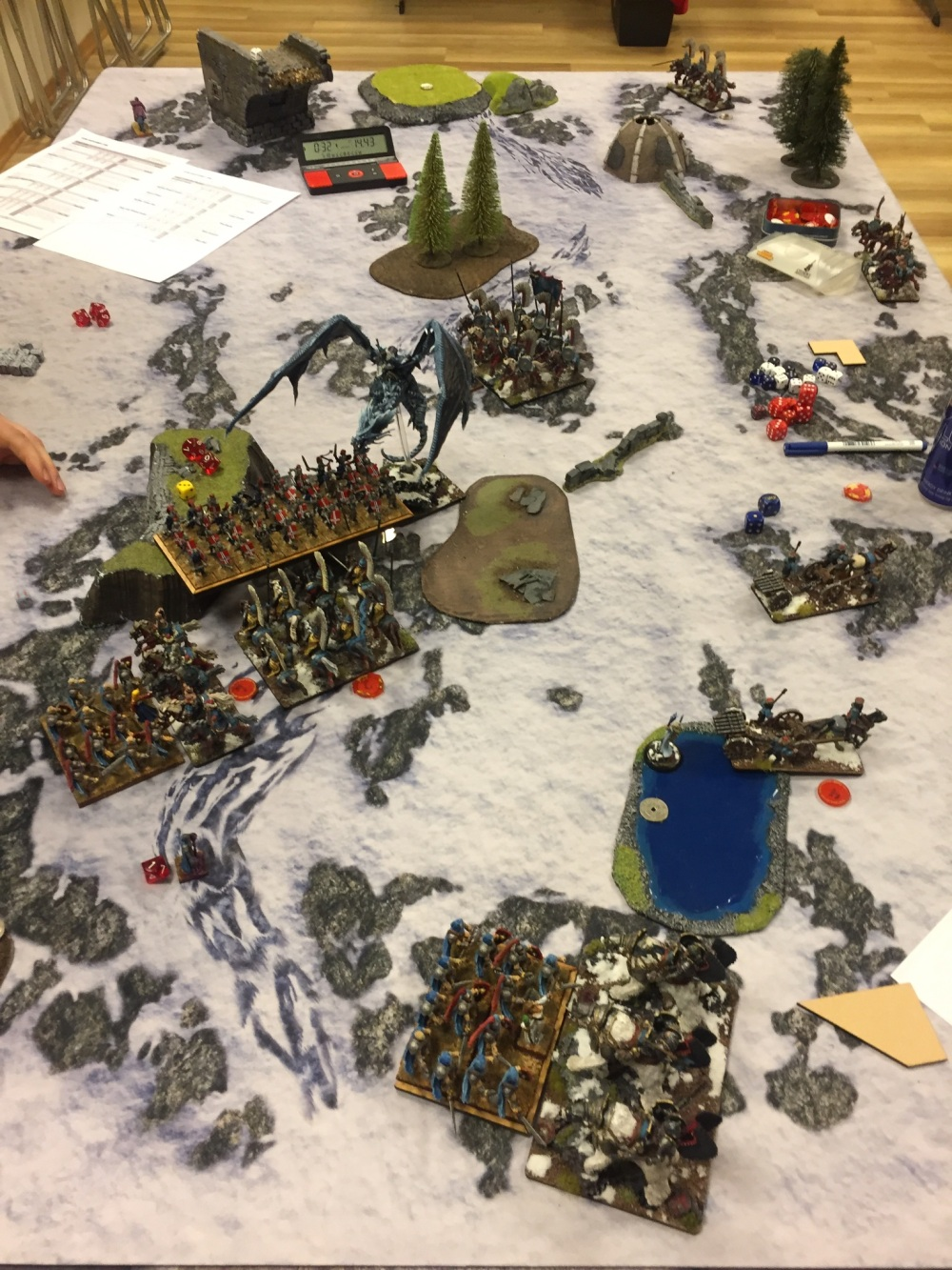 game 1 turn 3 undead