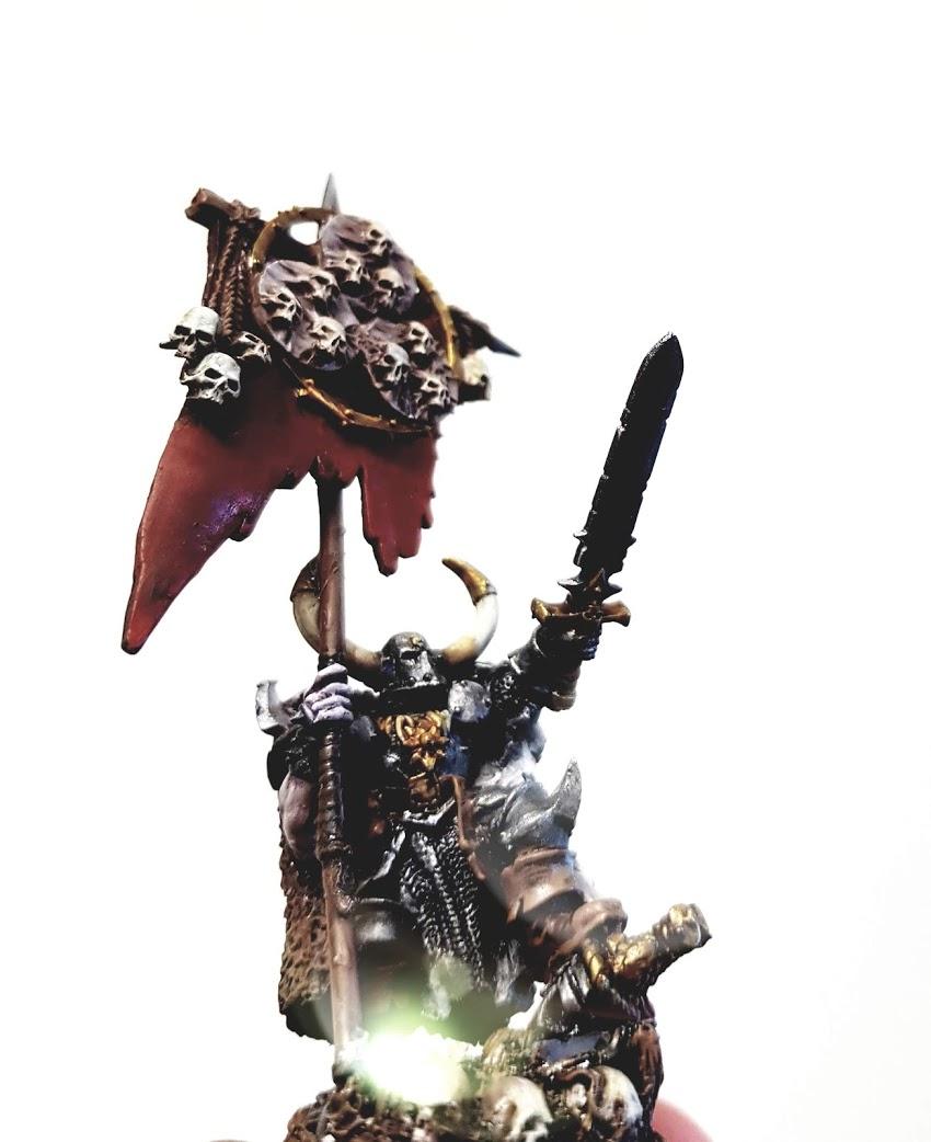 Warhammer Norscan Battle Standard Bearer
