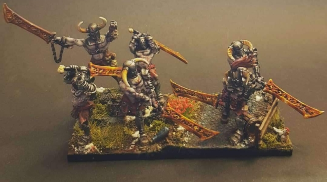 Norscan reavers - slave soliders with demon blades