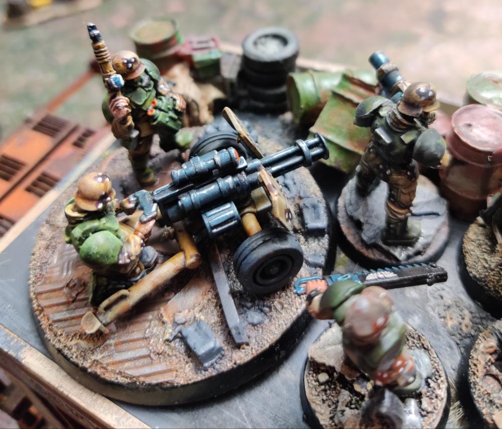 turn 2 minigun readying