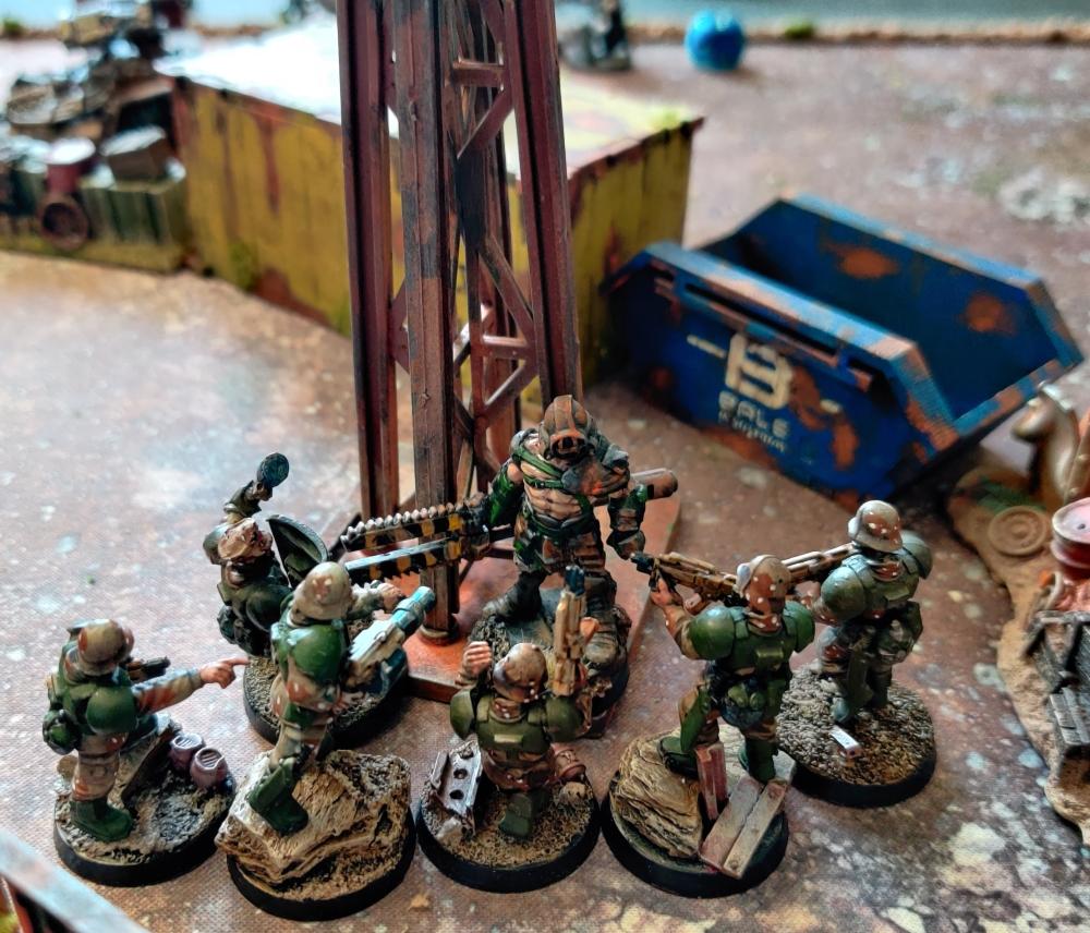turn 4 fix bayonets