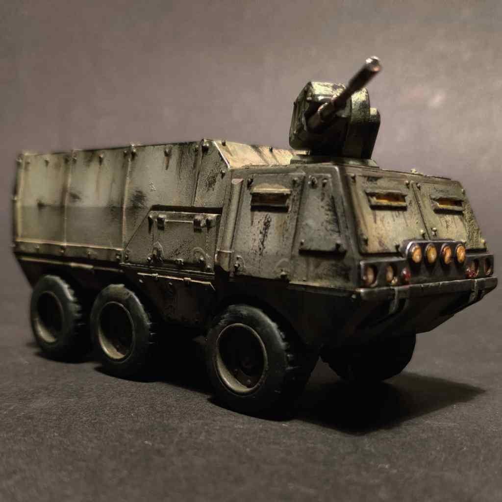 Warhammer 40k logistics / troop truck